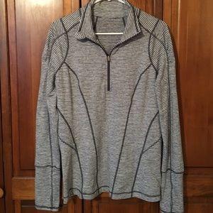 Zella half zip up yoga running jacket